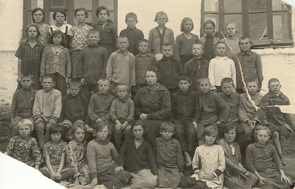 Schulklasse in Rastadt